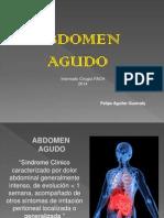 Abdomen Agudo y Apendicitis 2014