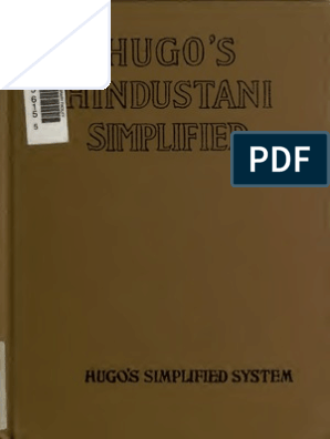 Hugo's Hindustani   Grammatical Gender   Urdu