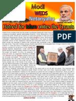 Modi Weds Netanyahu