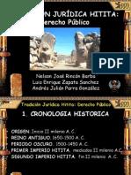 Derecho Publico Hitita Diapositivas Publicada