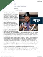 Jazz Concert Review Ornette Coleman @ Jazzreview.com