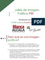 Analisis de Imagen Politica Pri