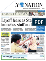 Daily Nation July 15th 2014