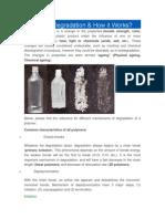 Degradation Chemistry