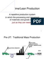 JIT Lean Production