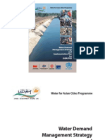Water Demand Management Strategy and Implementation Plan for Jabalpur