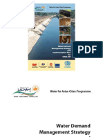 Water Demand Management Strategy and Implementation Plan for Gwalior