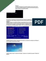 Reparar BOOT de Aranque Windows 7