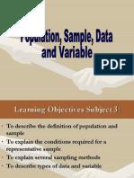 2) Populasi, Sampel, Data, And Variabel