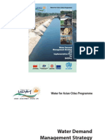 Water Demand Management Strategy and Implementation Plan for Bhopal