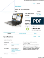 Dell Precision M6500 Review and Specifications
