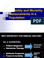 3) Measurement of Mortality and Morbidity
