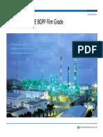 BOPP Film Grade Catalog