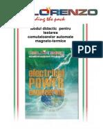 Disjunctoare magnetoelectrice