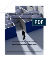 Management Consulting Firms - Finding the Right Growth Strategy