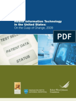 Health Information Technology in the United States 2009