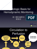 Physiologic Basis for Hemodynamic Monitoring