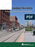 Understanding Flexibility in transportation design