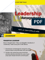 Pengertian Leadership