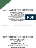 STATISTICS FOR BUSINESS MANAGEMENT 11 OCTOBER
