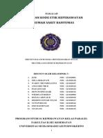 Makalah Kode Etik Keperawatan Indonesia Tahun 2000