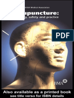 Acupuncture by Board of Science and Education 2000 Pg 149 Efficacy Safety and Practice