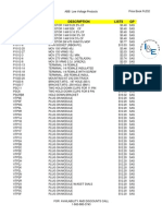 ABB Price Book 658