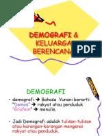 DEMOGRAFI & Kb Kuliah Kbk Presentasi Edit