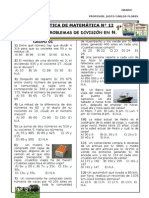 PRÁCTICA N° 12 - 1° - PROB. DIVISION EN N - I