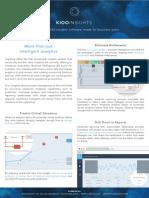 Cupenya Kioo Insights Data Sheet