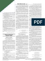 Portaria Interministreial 040 - Siconv e Emendas Parlamentares