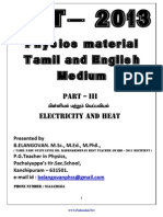72 Tet Physics Material Part III
