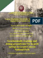 Seminario Idrogeologia Kreamer 2014
