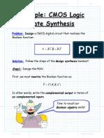 Example CMOS Logic Gate Synthesis.pdf
