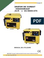 Manual Utilizare Generator Diesel Cu Automatizare Stager DG5500 SE