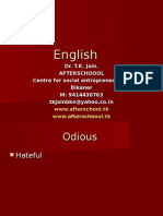 24  June  ENGLISH