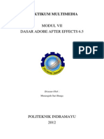 Modul 7 Dasar Adobe After Effects