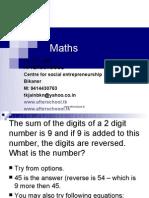 24  June maths