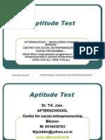 26 july Aptitude Test