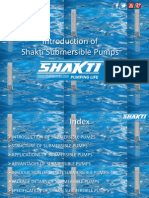 An Intro of Shakti Submersible Pumps
