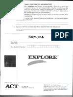 Explore Form 05a
