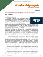 Accornero 2004 - El Individualismo de Mercado y