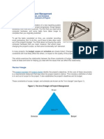 The Iron Triangle of Project Management