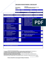 Race  Driver Standards Monitoring Log (Driving Standards)