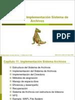 Implementacion de Sistema de Archivos