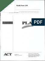 Plan Form 31b