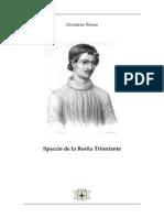 Spaccio de La BestiaTrionfante - Giordano Bruno