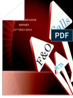 Derivative Report 15 July 2014