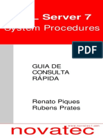 00151 - Guia de Consulta Rápida SQL Server 7 System Procedures