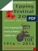 Epping Festival 2014